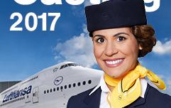 Lufthansa Flugbegleiter Casting
