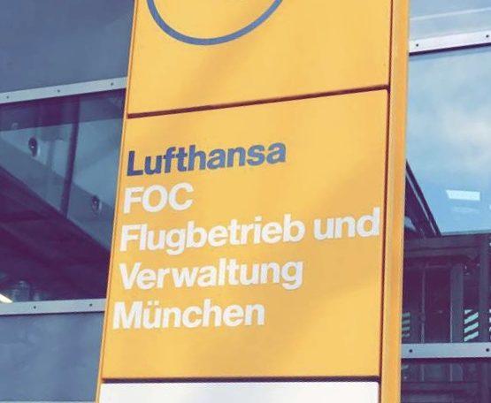 Lufthansa Flugbetrieb und Verwaltung München